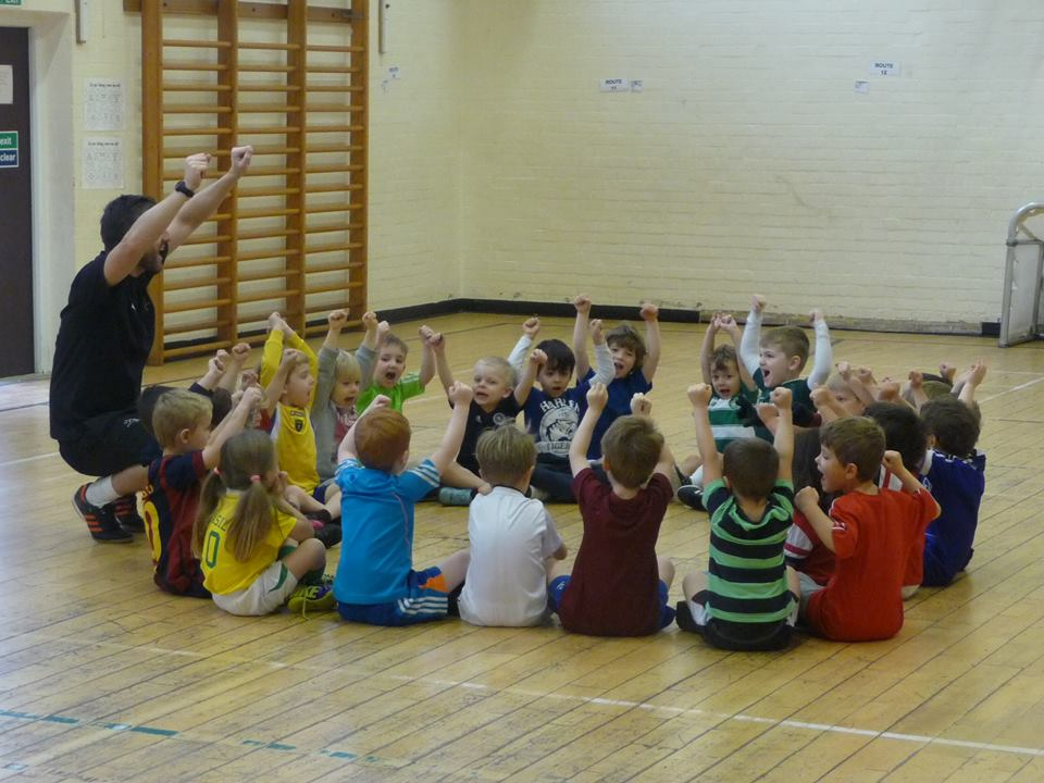 3v2 Soccer Academy - Pilrig Park School