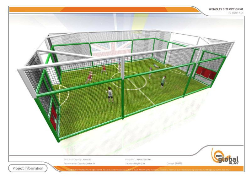 Indoor Football for Children (2-6yrs)