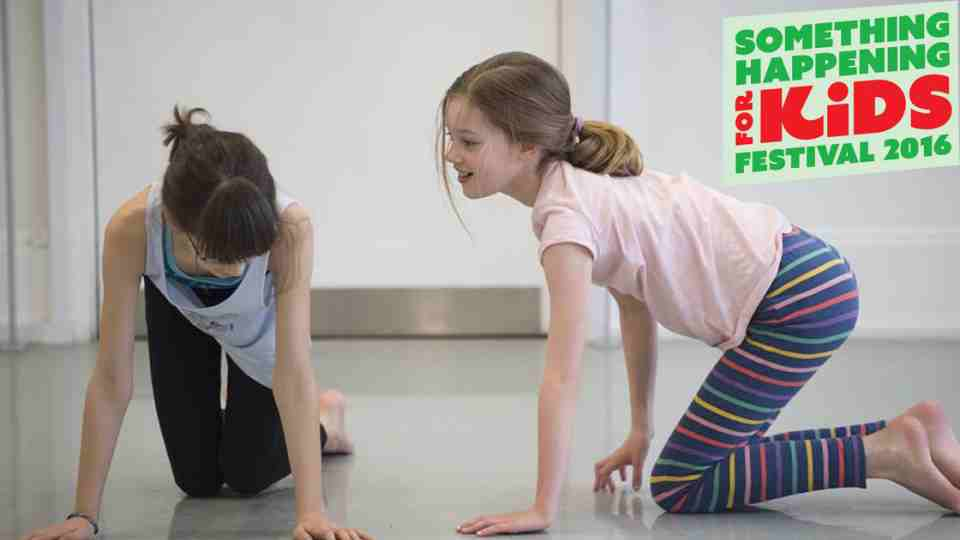 Family Yoga workshop (for all ages) with Anouska Anderson