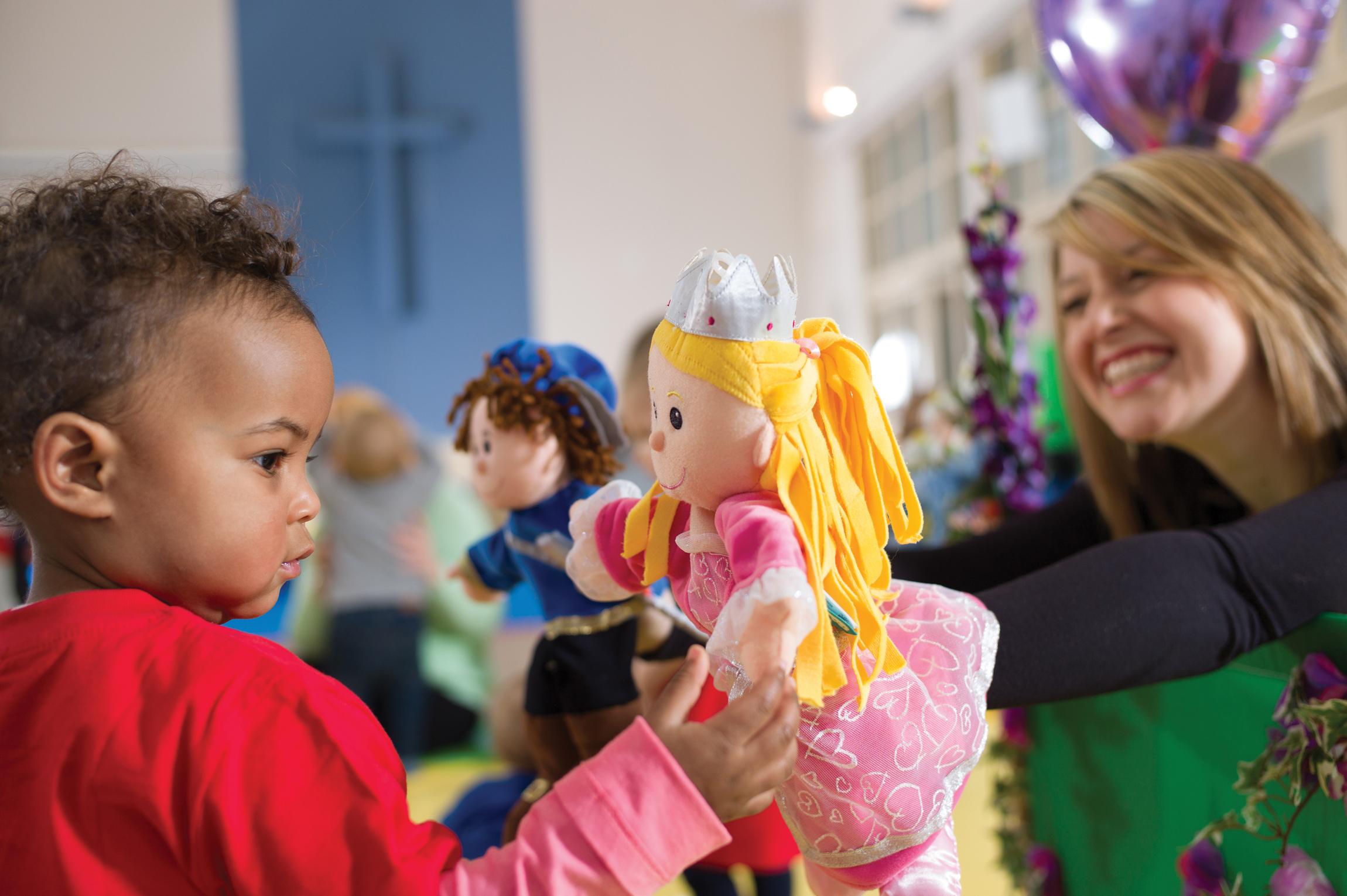 Toddler Sense-Christ church Halls